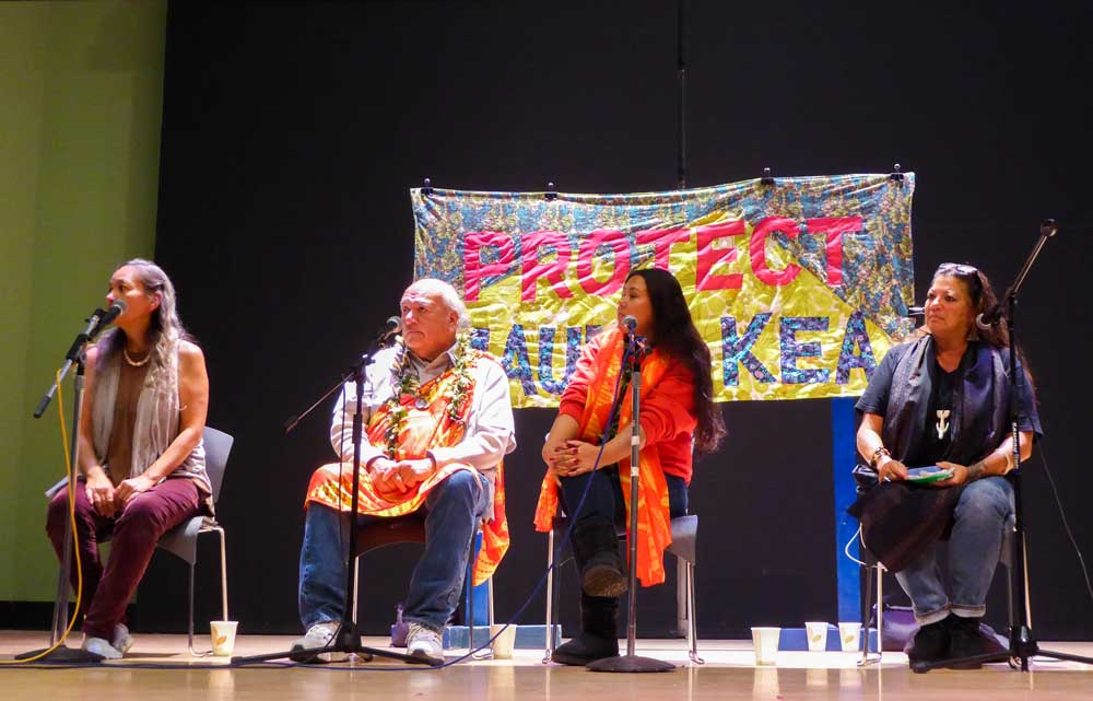 UCSC Mauna Kea Protectors Hosts Teach-In