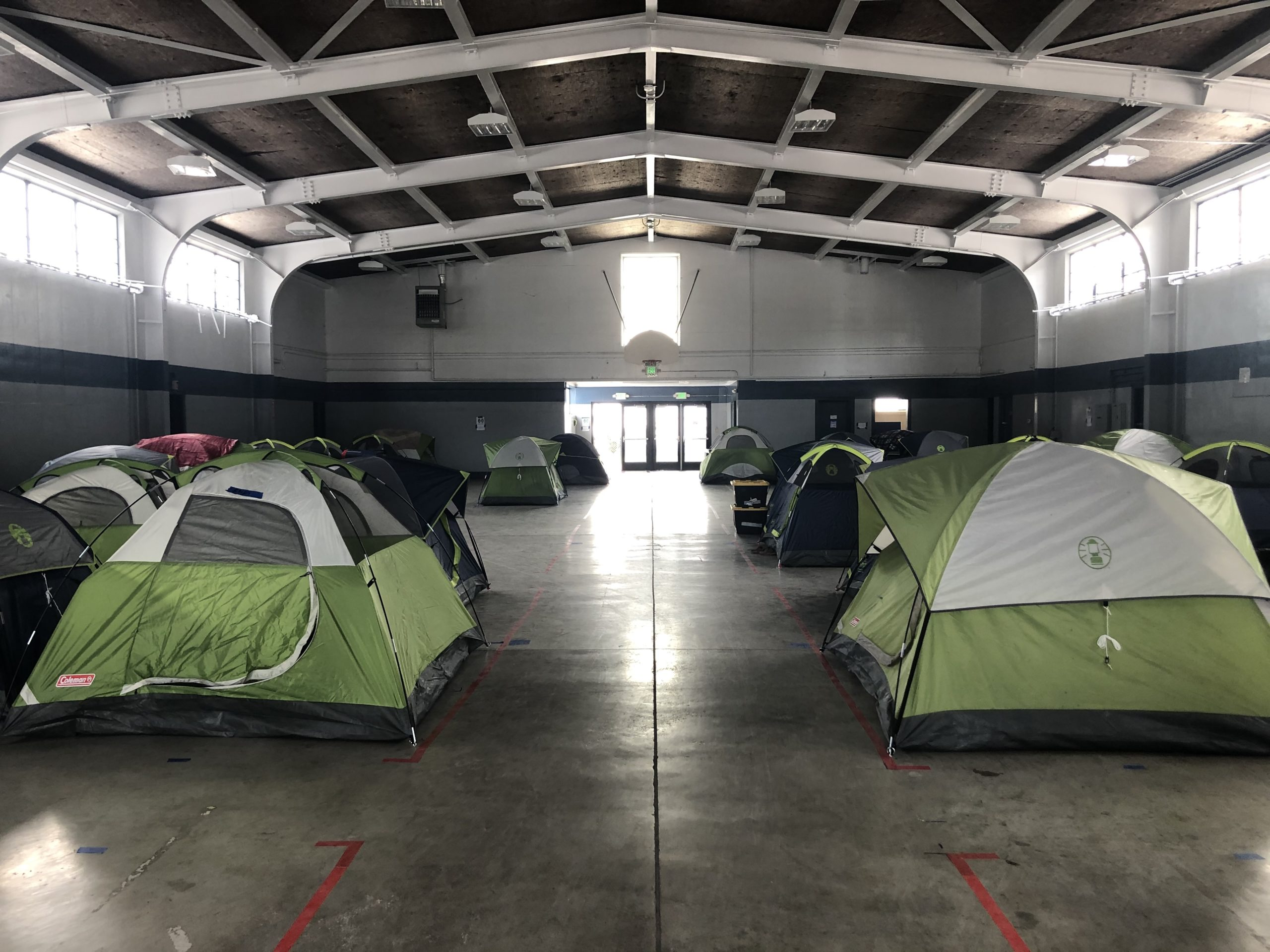 City Reopens Armory as Winter Shelter