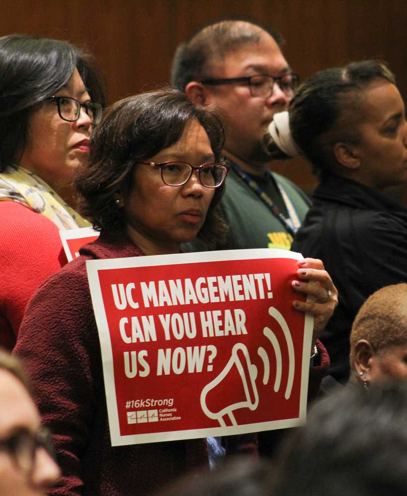 Tuition Hike Proposals Draw Crowd of Protesters