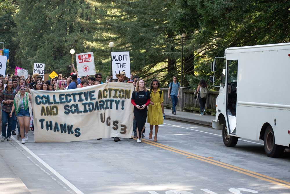 UCSC Fires At Least 74 Graduate Student Employees