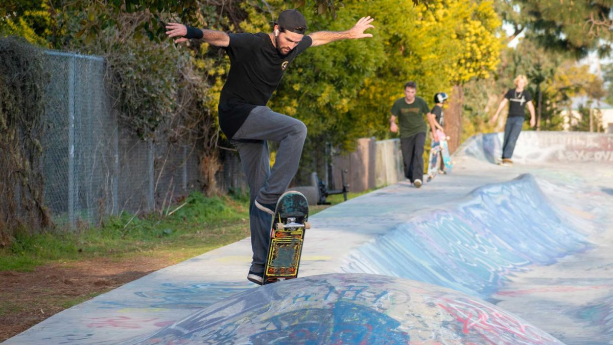 A Glimpse into the Santa Cruz Skate Scene