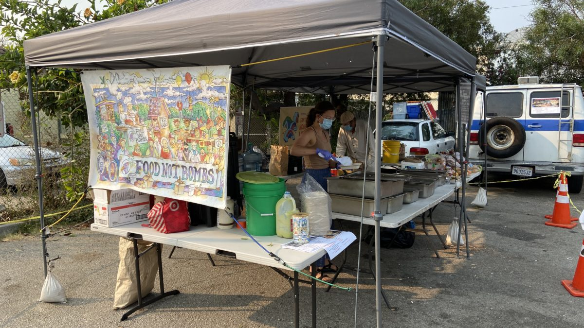 Food Not Bombs Served Eviction Notice