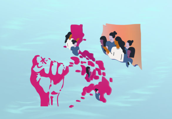 Women in the Philippines and in Santa Cruz are joining forces in the Gabriela Women's Party.