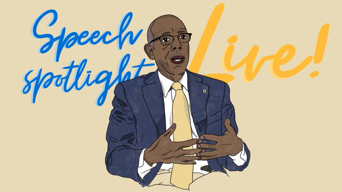 UC President Michael Drake Stars on Speech Spotlight Live