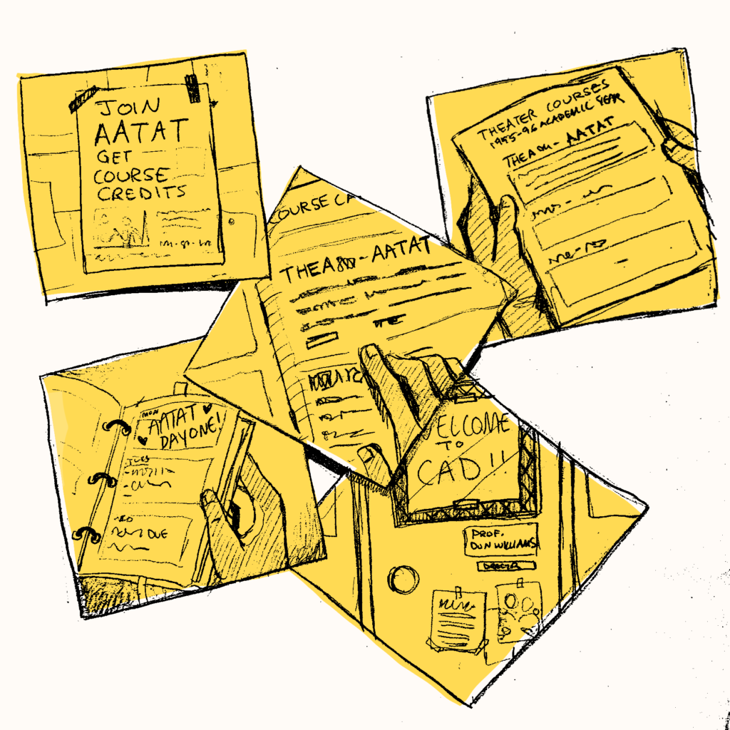 Various notes and posters of AATAT courses.