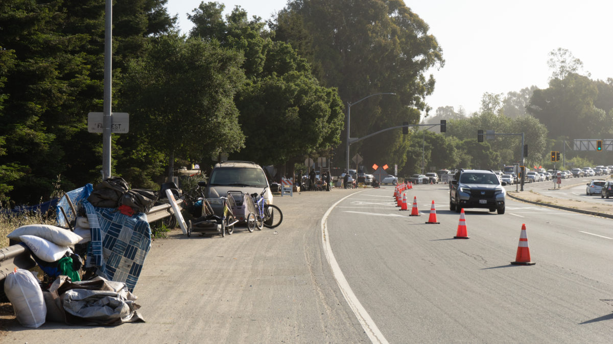 Caltrans Clears Highway 1 and 9 Houseless Encampments Ahead of Widening Project