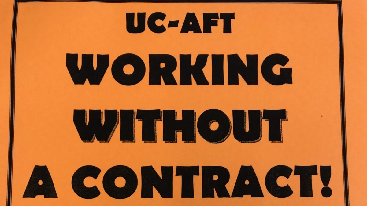 UC-AFT Reaches Strike Pledge Goal During May Day Rally