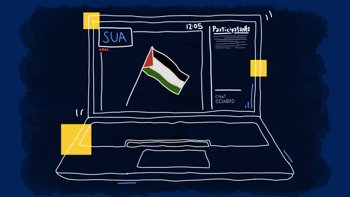 SUA Passes Muslim Student Association's Statement in Support of Palestine